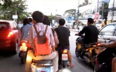Rumsausen in Chiang Mai: Meine Motorroller-Eskapaden