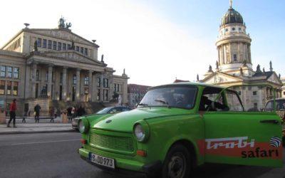 Trabi-Safari in Berlin oder: Ein Rudel rasender Rennpappen