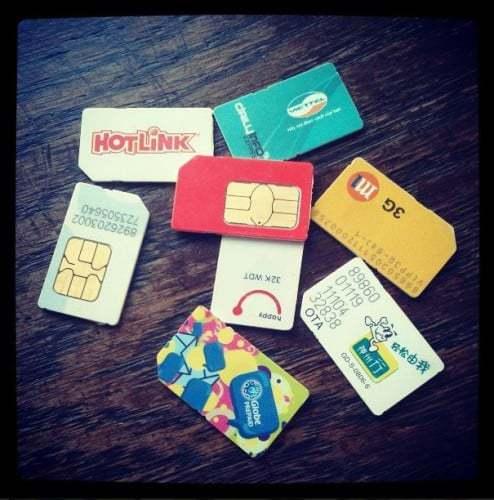 Kommst du noch mit hoch, meine Sim-Karten-Sammlung ansehen?